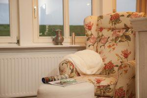 Ferienwohnung Elbdeich 1 Wohnzimmer